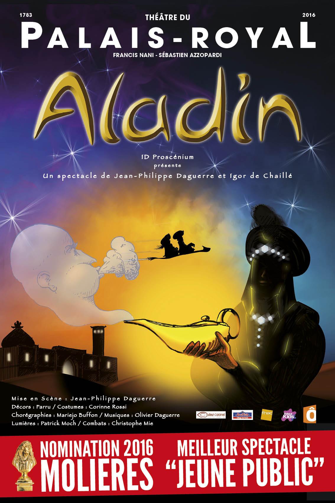 Aladin un agr able spectacle pour un bon moment en famille la grande parade - Yasmine de aladin ...