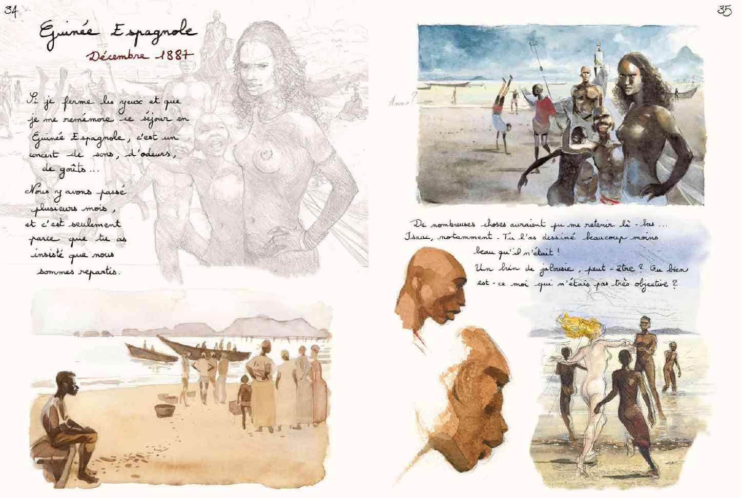 Les voyages d'Anna : l'amour et l'exotisme pris au piège d'un superbe carnet de voyages