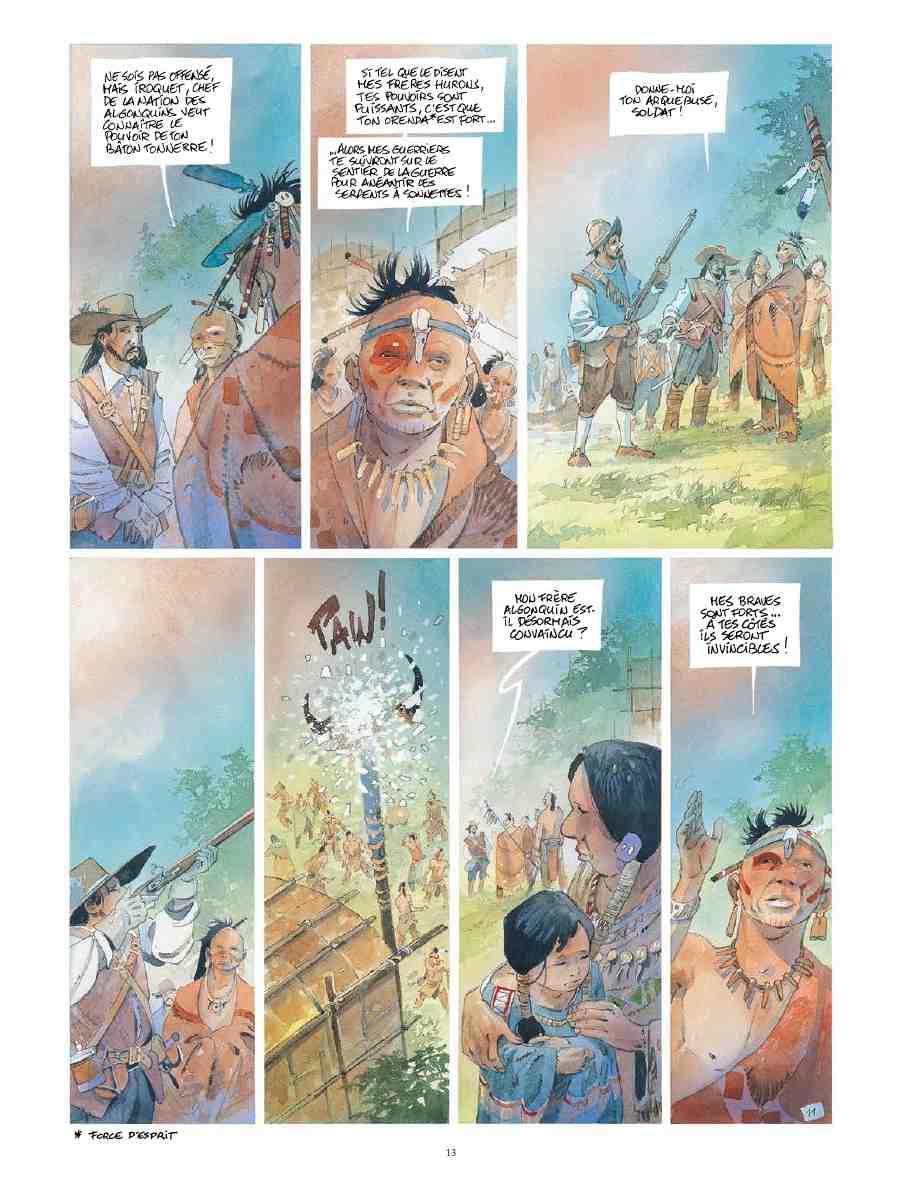 Iroquois : une quête franco-indienne aux couleurs d'automne superbes!