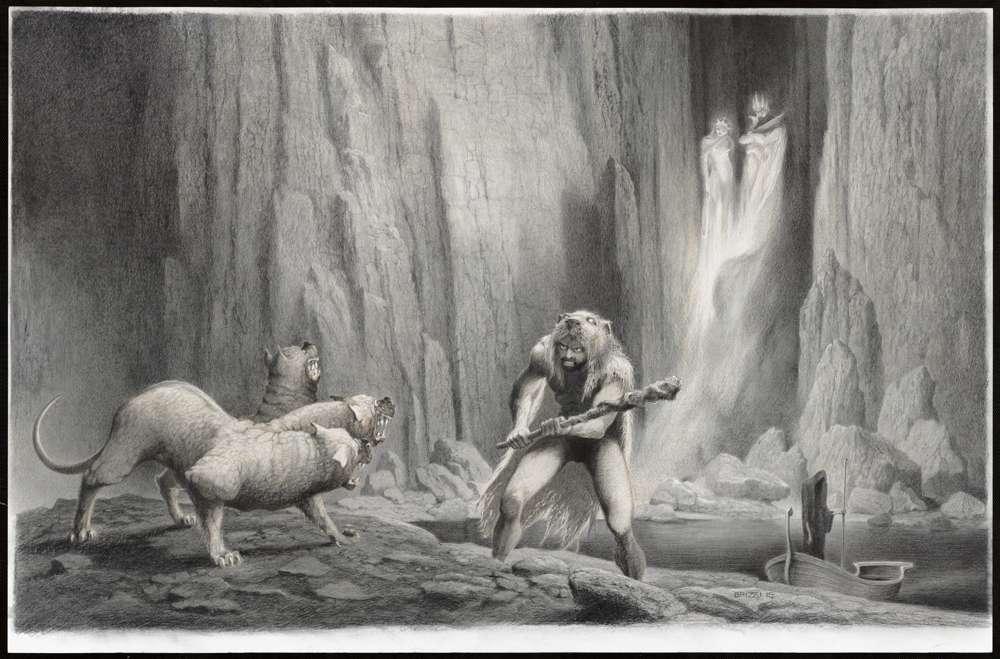 Paul et Gaëtan Brizzi : 31 illustrations à la Galerie Daniel Maghen pour entrer dans la légende