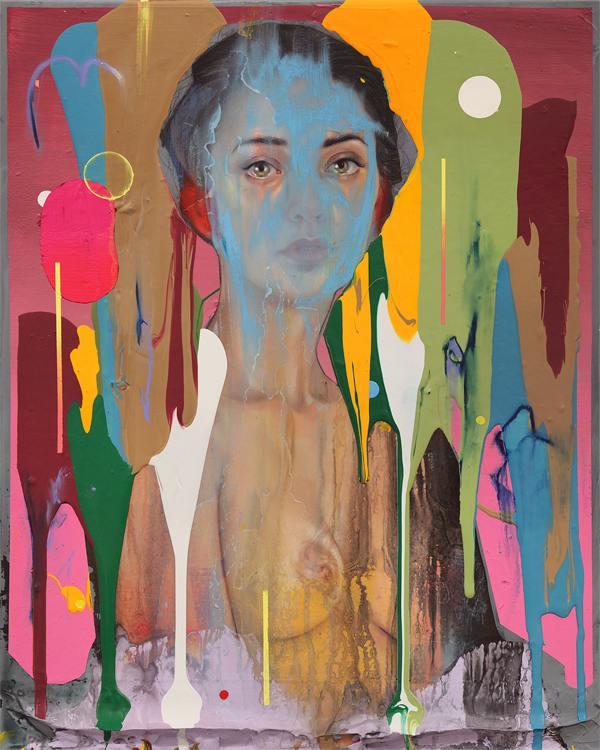 Erik Jones : un feu d'artifice de couleurs et de reliefs made in Brooklyn