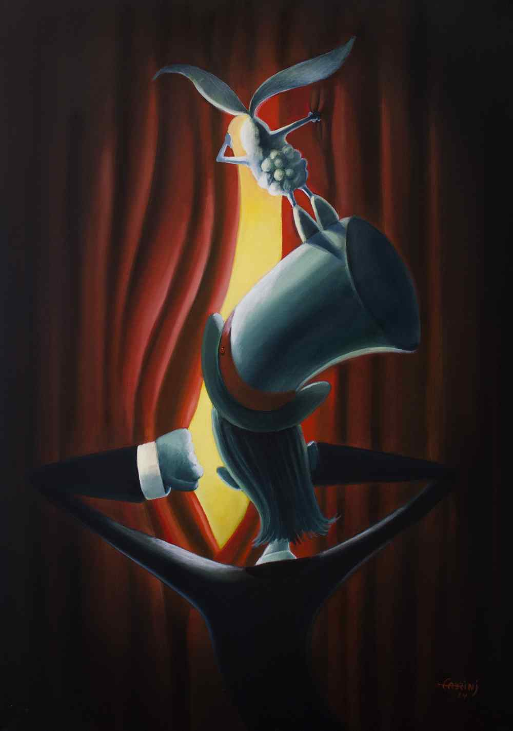 Fabrini Crisci : les toiles spectaculaires d'un magicien brésilien