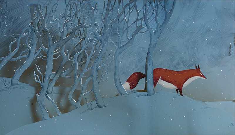 Fox's garden : le rêve d'hiver d'une reine du découpage