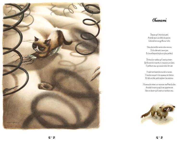 Facéties de chat : un hommage en vers, tendre et espiègle, aux félins de caractère